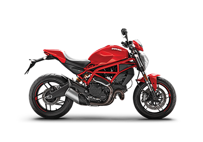 DUCATI MONSTER 821 Red