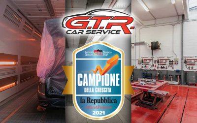 Campioni della crescita 2021, GTR Car Service tra le aziende in maggiore espansione