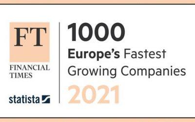 GTR Car Service nella classifica FT1000 delle aziende con maggior crescita in Europa