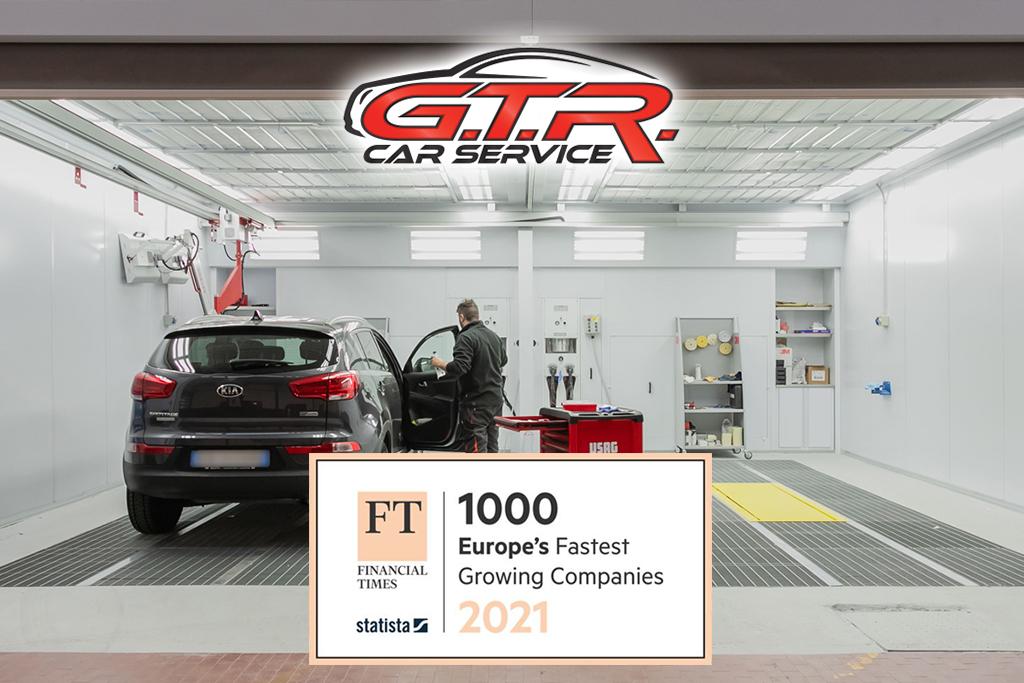 GTR car service ft1000 financial times classifica migliori aziende europee crescita 2021