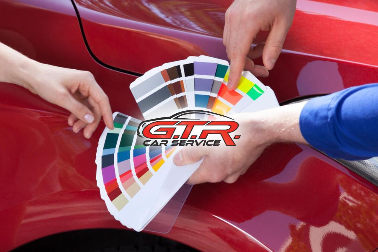 verniciatura auto come scegliere il colore della carrozzeria gtr car service
